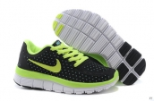 Nike Free 5-0 Kids Black Fluorescent Green