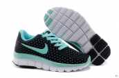 Nike Free 5-0 Kids Black Light Green