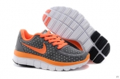 Nike Free 5-0 Kids Dark Grey Orange