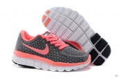 Nike Free 5-0 Kids Dark Grey Pink