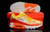Nike Air Max 90 Hyperfuse Yellow Orange White