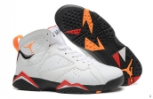 AAA Air Jordan 7 Retro White Orange