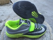 Nike KD VII Grey Fluorescent Green White
