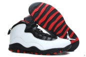 AAAAA Air Jordan 10 US14 US15 US16 White Black Red 170