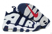 AAA Air More Uptempo White Navy Blue Red