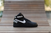 Women Nike Air Force 1 High SUP Black White