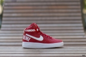 Women Nike Air Force 1 High SUP Red White