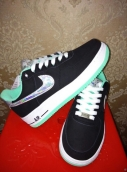 Air Force 1 Low Women Black Mint Green White