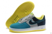 Air Force 1 Low Blue Grey Yellow Navy Blue