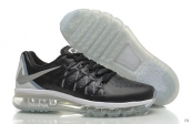 Air Max 2015 AAA Leather Punch Black White