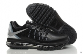 Air Max 2015 AAA Leather Black Grey