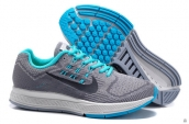 Women Air Zoom Structure 18 Fash Grey Black Light Green