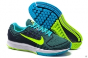 Air Zoom Structure 18 Fash Army Green Fluorescent Green