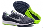Air Zoom Structure 18 Fash Grey White Green
