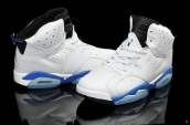 Air Jordan 6 White Blue