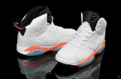 Air Jordan 6 White Orange