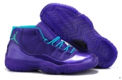 AAA Air Jordan 11 Purple Blue