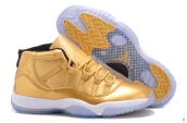 AAA Air Jordan 11 Golden