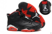AAA Air Jordan 6 Black Red White 140