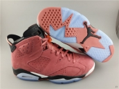Super Perfect Air Jordan 6 Chamois Carmine 500
