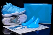 AAA Air Jordan 11 North Carolina Blue 130