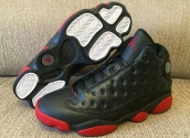 Air Jordan 13 Women Black Red 110
