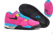 Air Flight 89 Women Rose Red Blue Black