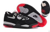 Air Flight 89 Women Black Grey Red