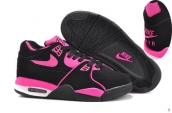 Air Flight 89 Women Black Rose Red
