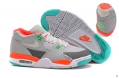 Air Flight 89 Women Grey Orange White Jade