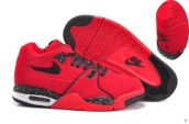 Air Flight 89 Women Red Black White