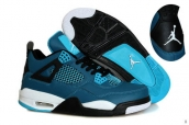 Air Jordan 4 Turq Black White