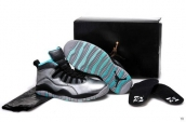 AAA Air Jordan 10 Retro Lady Liberty Silvery Black