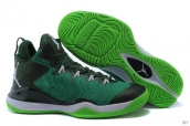 Air Jordan Super-fly 3 X Dark Green White