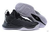 Air Jordan Super-fly 3 X Black Grey White