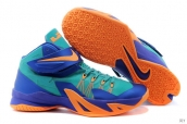 Nike Zoom Soldier VIII Green Purple Orange