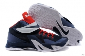 Nike Zoom Soldier VIII Navy Blue Red White