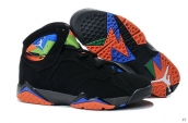 Air Jordan 7 Black Orange