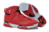 Air Jordan 7 Red White Black
