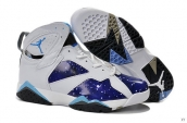 Air Jordan 7 White Blue