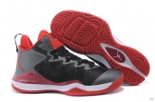Air Jordan Super-fly 3 X Dark Grey Black Red White