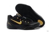Nike Kobe 9 Low Women Black Golden