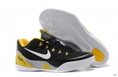 Nike Kobe 9 Low Women Black Yellow White