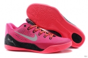 Nike Kobe 9 Low Women Pink Black White