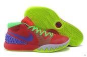 Nike Kyrie 1 Red Fluorescent Green Blue