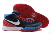 Nike Kyrie 1 Navy Blue White Red