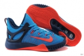 Nike Zoom Hyperrev 2015 Blue Navy Blue Red