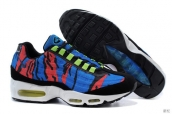 Nike Air Max 95 Prem Tape Blue Black Red Green