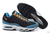 Nike Air Max 95 Prem Tape Navy Blue Orange Jade