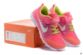 Nike Free 6-0 Kids Pink Green White